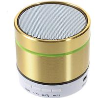 S07D Bluetooth Mini Højtaler med Mikrofon - Guld