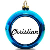 Julgranskula Blà Christian