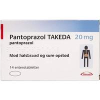 "Pantoprazol ""takeda"" 14 Stk Enterotabletter fra Takeda pharma a/s -"
