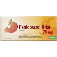 """Pantoprazol """"krka"""" 14 Stk Enterotabletter fra Krka ab -"""