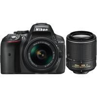 Nikon D5300 + AF-P 18-55mm VR + AF-S 55-200mm VR II