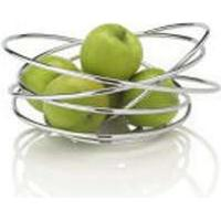 Black + Blum Black+Blum Loop Fruit Bowl - Chrome Frugtskål
