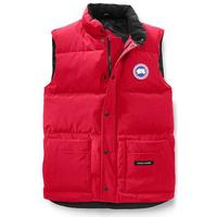 Freestyle Crew Vest Herr, L, Röd