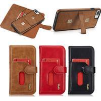 Apple iPhone 8 Plus Kompakt Plånboksfodral i läder
