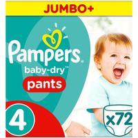 Pampers Baby Dry Pants Size 4 Jumbo+