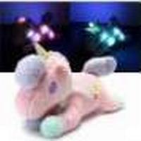 Unicorn Plush Soft Toy Stuffed Light Animal Cuddly Doll Kids Children Toy Gift