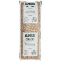Scandbio Scanbio træpille 6mm 16 kg/ps svensk a kvalitet - 56 poser pr. palle = 896 kg