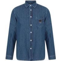 Kenzo Denim Tiger Shirt Navy Blue