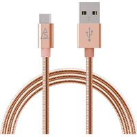 Smartline micro-usbkabel metall 1m, rose gold