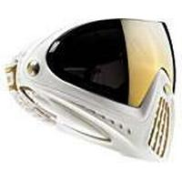 Dye Paintball Goggles - White/Thermal Gold, One Size