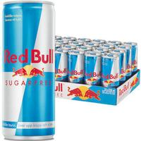 Redbull sugarefree 25cl inkl.