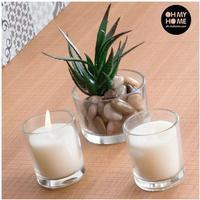 Doftljus och kaktusdekoration Oh My Home (3 st)