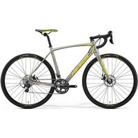 Merida Cyclo Cross 400 Titan/gul/röd 54 Cm