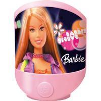 Tischleuchte Barbie für Kinder aus Kunststoff mit Schalter
