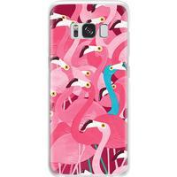 Samsung Galaxy S7 edge skal mjukt TPU - Flamingo odd