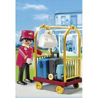 Playmobil Summer Fun Porter With Baggage Cart