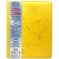 Ultra Pro Premium 9-Pockets Pikachu Binder 360 Cards