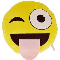 Necknapperz Emoji Wink & Tongue Soft Toy #nec-emo-ass