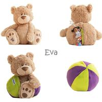 Buddy Balls - Eva Mocha Bear