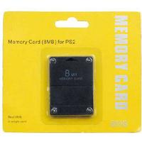 ZedLabz 8MB memory card for Sony PS2, Playstation 2, PS2 Slim retail pack black