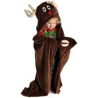 Reindeer Critter Fleece Blanket