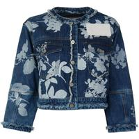 Vivienne Westwood Dana Absence of Rose Print Jacket Denim