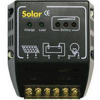 8A ladestyring til solcellepaneler (op til 120W eller 4 x 20W Flexi PV) - 12V