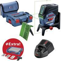 Bosch Professional Linjelaser Selvnivellerende Bosch Professional GCL 2-50 CG + RM2 + Mobility-Set Rækkevidde (max.): 20 m Kalibrering efter: Fabriksstandard
