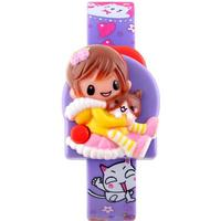 New Fashion Cute Barbie Girl Children Electronic Watch - Purple