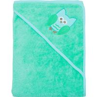 Imsevimse Hooded Towel Turquoise Owl
