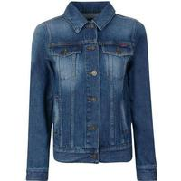 Kenzo Hyper Denim Jacket Navy Blue