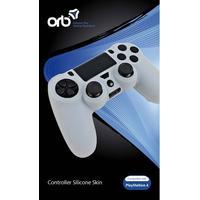 Orb PS4 Silicon Skin White - Tillbehör för spelkonsol - Sony Playstation 4
