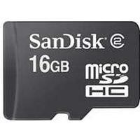 SanDisk MicroSD HC 16GB