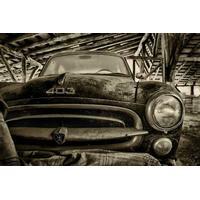 Alte Peugeot von Peter Halma