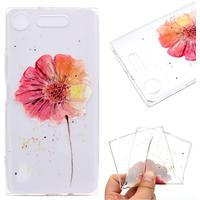 MOBILCOVERS.DK Sony Xperia XZ1 Compact Beautiful Flower TPU Cover