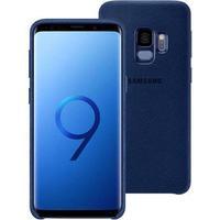 Samsung Galaxy S9 Alcantara Cover EF-XG960ALEGWW - Blå