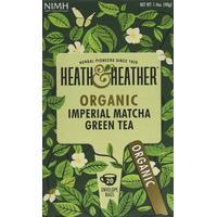 Heath & Heather Organic Imperial Matcha Green 20 Teabags 6-pack6-pack