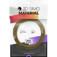 3D Simo 3Dsimo Metall Bronze 3D-skrivare Filament 1.75 mm Brons (metallic) 40 g