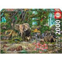 Educa African Jungle 2000 Pieces