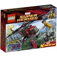 Wolverine's Chopper Showdown