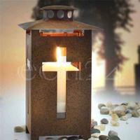 Stormlygte Grave lanterne som 16cm med glas