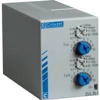 Crouzet PU2R1 Tidsrelä Multifunktionell 1 st Tidsdomän: 0.1 s - 100 h 2 switch