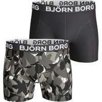 Urban Surfer Bjorn Borg 2 Pack Forest Boxers - Black