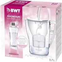 BWT Vandfilter BWT PENGUIN Promo Glasflasche 0815046 2.7 l Hvid