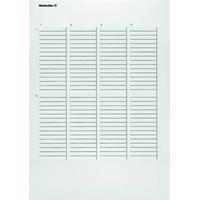 Weidmüller Printsystem printer Weidmüller ET S7-300-TU-A4-1 1865450000 10 stk Antal markører 160 Turkis