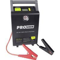 ProUser Hurtigstartsystem ProUser Lithium Jump Starter 12/24V 30.000mAh / LI 1200A 30 Ah