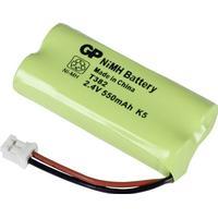 GP Batteries 220382C1 55AAAHR2BMX T382 Batterier til trådløs telefon Passer til: Siemens, Gigaset, Universum NiMH 2.4 V 550 mAh