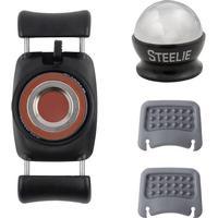 Mobiltelefon-holdere til bilen NITE Ize Steelie FreeMount Car Mount Kit (NI-STFD-01-R8) Sort, Sølv