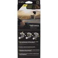 Mobiltelefon-holdere til bilen NITE Ize Steelie FreeMount Windshield Kit (NI-STWSK-01-R8) Sort, Sølv