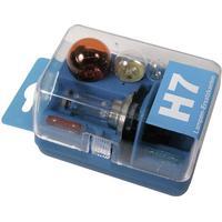 Reservlampsats 12 V Unitec Standard H7 7 delar